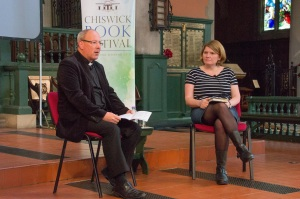 Chiswick Book Festival, Sat 12th Sept 2015, with Father Kevin Morris