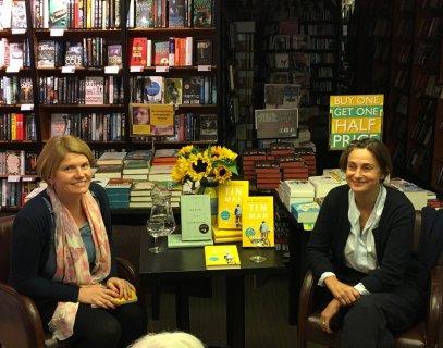 With Sarah Winman